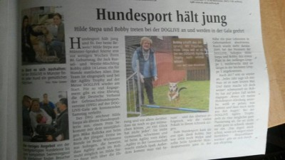 Hundesport hält jung